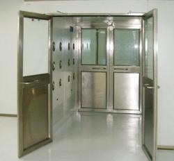 大型双开门货淋室