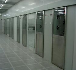 自动门货淋室