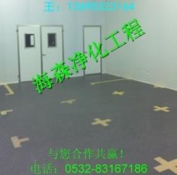 青岛海森洁净无尘净化车间的设计规划